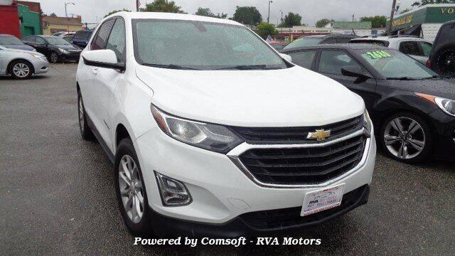 2018 Chevrolet Equinox for sale at RVA MOTORS in Richmond VA