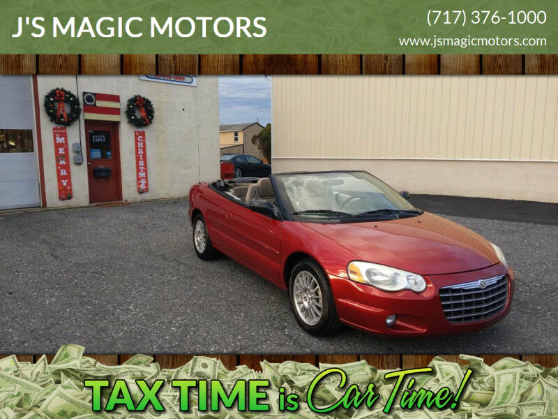 2006 Chrysler Sebring for sale at J'S MAGIC MOTORS in Lebanon PA