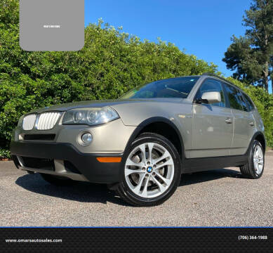 2007 BMW X3 for sale at Omar's Auto Sales in Martinez GA