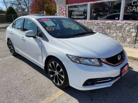 2013 Honda Civic for sale at GOL Auto Group in Austin TX