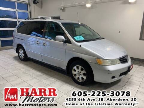 2002 Honda Odyssey for sale at Harr Motors Bargain Center in Aberdeen SD