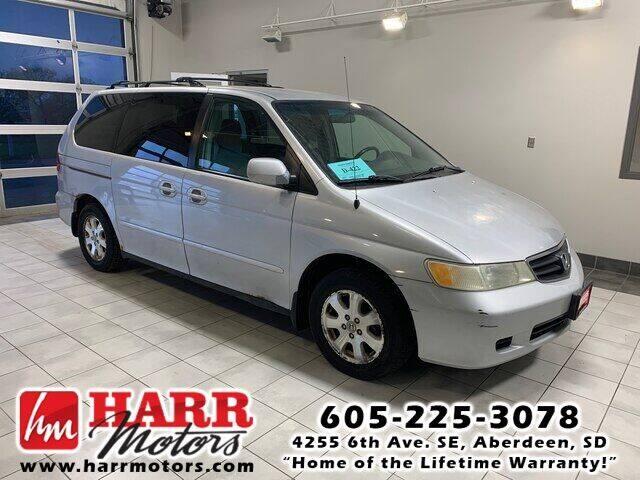 2002 Honda Odyssey for sale at Harr Motors Bargain Center in Aberdeen SD