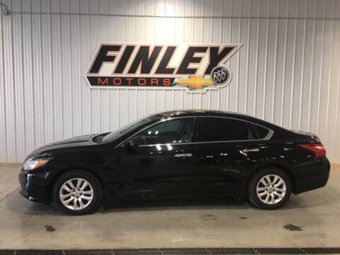 2016 Nissan Altima for sale at Finley Motors in Finley ND