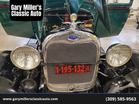1929 Ford Model A for sale at Gary Miller's Classic Auto in El Paso IL