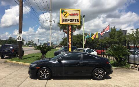 2016 Honda Civic for sale at A to Z IMPORTS in Metairie LA