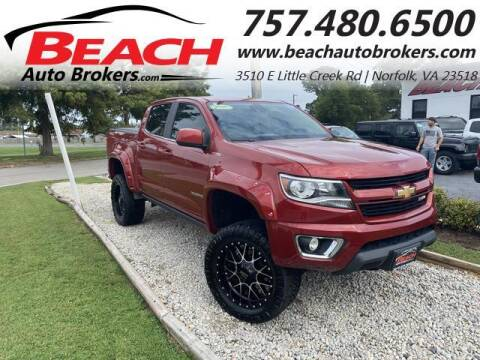 2016 Chevrolet Colorado for sale at Beach Auto Brokers in Norfolk VA