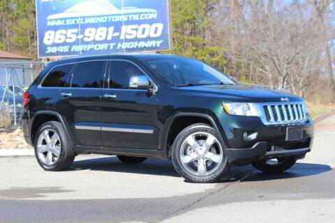 2012 Jeep Grand Cherokee for sale at Skyline Motors in Louisville TN