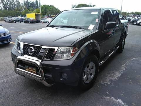 2012 Nissan Frontier for sale at Auto Remarketing Group in Pompano Beach FL