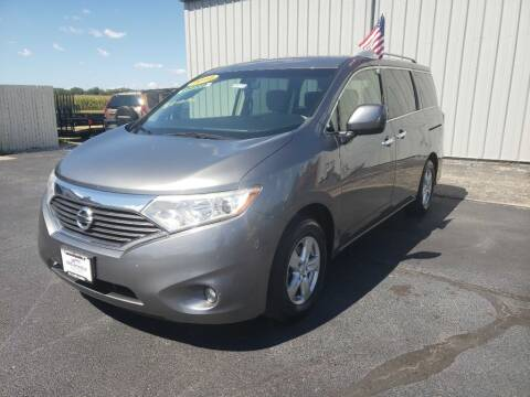 2016 Nissan Quest for sale at Used Car Factory Sales & Service Troy in Troy OH