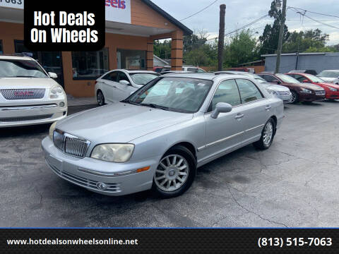 2004 Hyundai XG350 for sale at Hot Deals On Wheels in Tampa FL