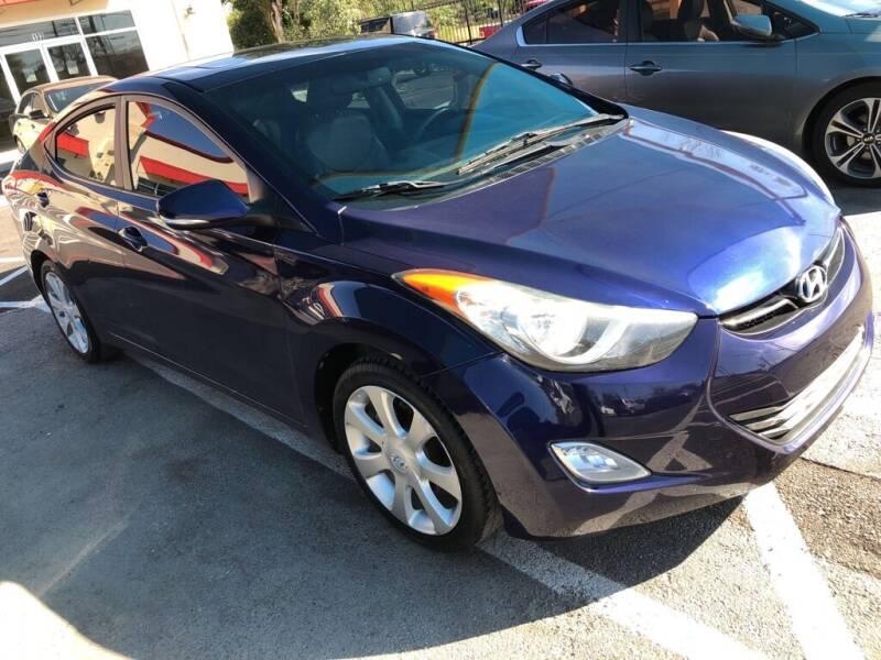 2012 Hyundai Elantra for sale at Gold Star Motors Inc. in San Antonio TX
