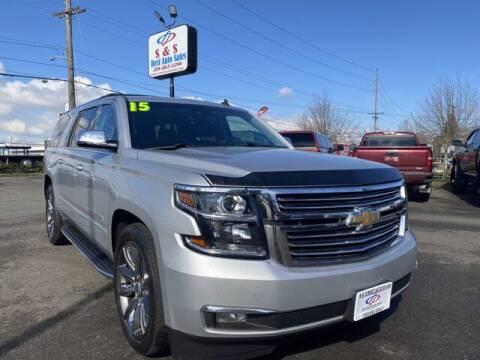 2015 Chevrolet Suburban for sale at S&S Best Auto Sales LLC in Auburn WA