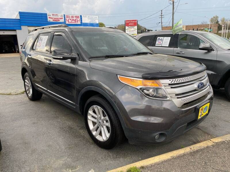2015 Ford Explorer for sale at Brian Jones Motorsports Inc in Danville VA