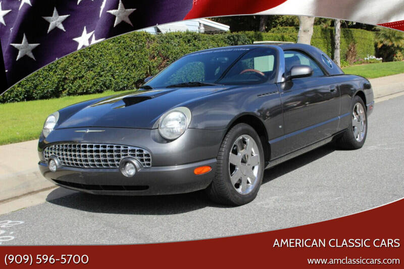 2003 Ford Thunderbird for sale at American Classic Cars in La Verne CA