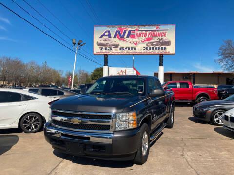 2010 Chevrolet Silverado 1500 for sale at ANF AUTO FINANCE in Houston TX