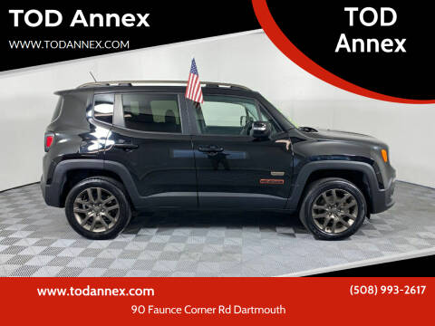 2016 Jeep Renegade for sale at TOD Annex in North Dartmouth MA