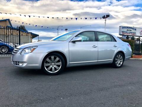 2007 Toyota Avalon for sale at BOARDWALK MOTOR COMPANY in Fairfield CA