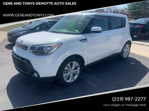 2016 Kia Soul for sale at GENE AND TONYS DEMOTTE AUTO SALES in Demotte IN