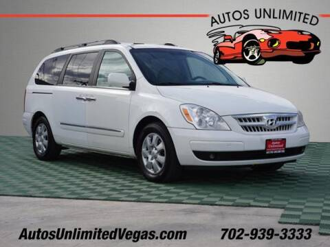 2007 Hyundai Entourage for sale at Autos Unlimited in Las Vegas NV