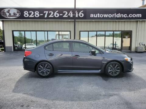 2015 Subaru WRX for sale at AutoWorld of Lenoir in Lenoir NC