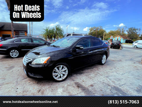2013 Nissan Sentra for sale at Hot Deals On Wheels in Tampa FL
