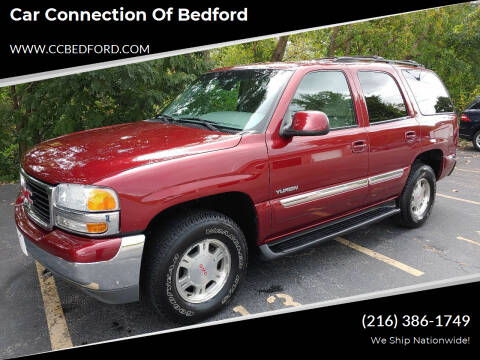 2001 GMC Yukon for sale at Car Connection of Bedford in Bedford OH