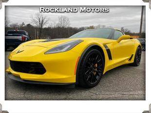 2016 Chevrolet Corvette for sale at Rockland Automall - Rockland Motors in West Nyack NY