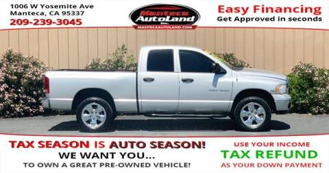 2005 Dodge Ram Pickup 1500 for sale at Manteca Auto Land in Manteca CA