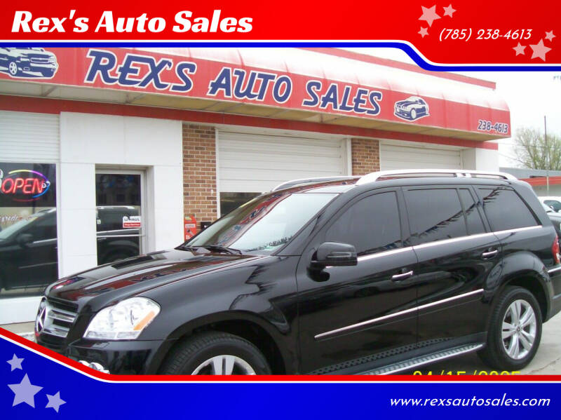 2011 Mercedes-Benz GL-Class for sale at Rex's Auto Sales in Junction City KS