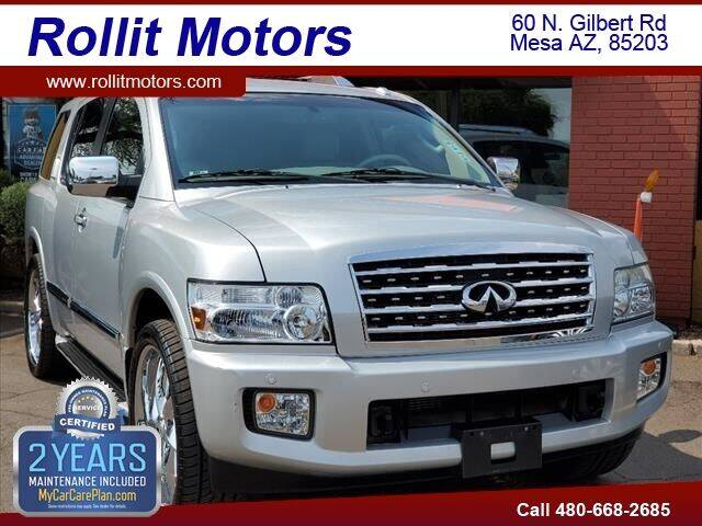 2008 Infiniti QX56 for sale at Rollit Motors in Mesa AZ