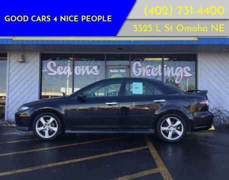 2005 Mazda MAZDA6 for sale at Good Cars 4 Nice People in Omaha NE