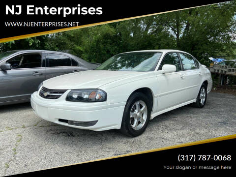 2005 Chevrolet Impala for sale at NJ Enterprises in Indianapolis IN