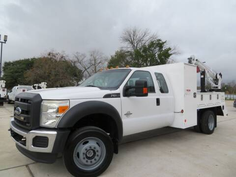 2016 Ford F-550 Super Duty for sale at TIDWELL MOTOR in Houston TX