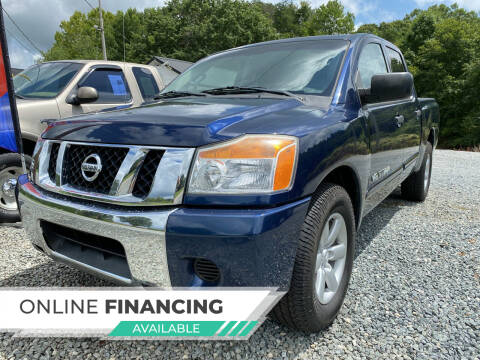 2012 Nissan Titan for sale at Auto Store of NC in Walkertown NC