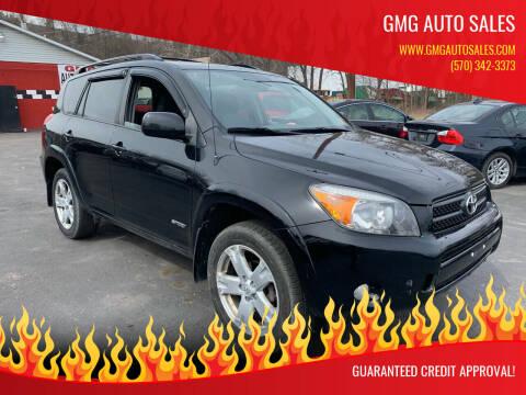 2007 Toyota RAV4 for sale at GMG AUTO SALES in Scranton PA