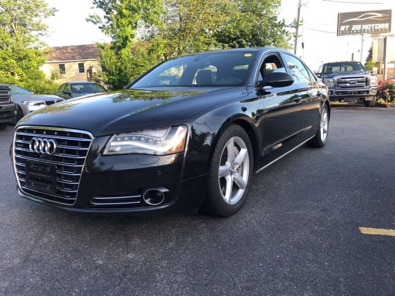 2013 Audi A8 L for sale at RT28 Motors in North Reading MA