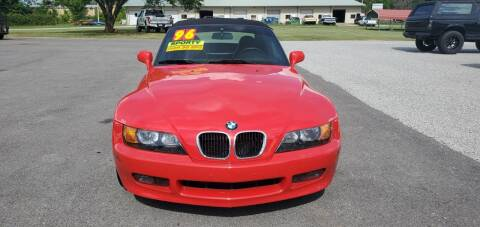 1996 BMW Z3 for sale at Jacks Auto Sales in Mountain Home AR