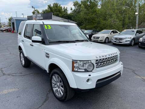 2013 Land Rover LR4 for sale at LexTown Motors in Lexington KY