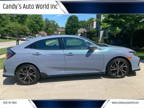 2019 Honda Civic for sale at Candy's Auto World Inc in Toledo OH