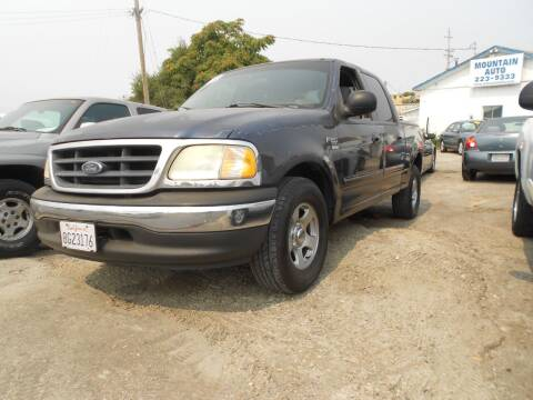 2003 Ford F-150 for sale at Mountain Auto in Jackson CA