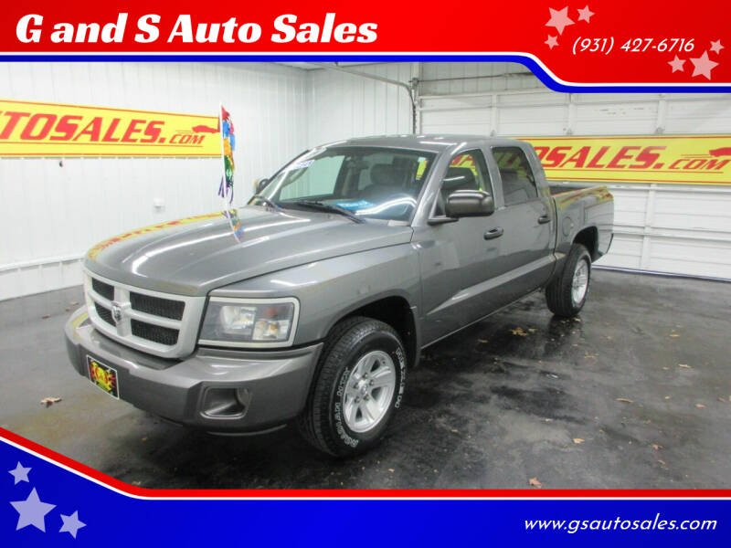 2009 Dodge Dakota for sale at G and S Auto Sales in Ardmore TN