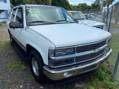 1997 Chevrolet Tahoe for sale at Ideal Motors in Oak Hill FL