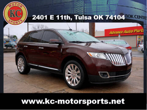 2012 Lincoln MKX for sale at KC MOTORSPORTS in Tulsa OK