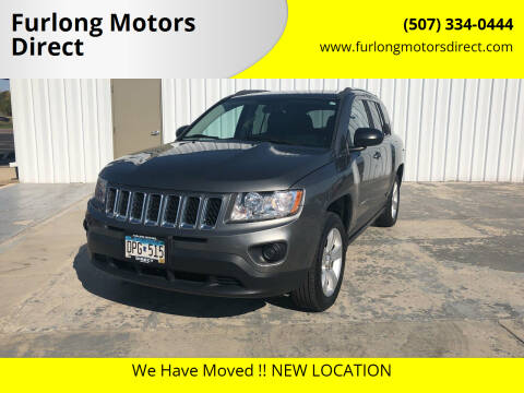 2013 Jeep Compass for sale at Furlong Motors Direct in Faribault MN