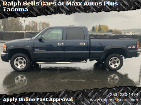 2007 GMC Sierra 2500HD Classic for sale at Ralph Sells Cars at Maxx Autos Plus Tacoma in Tacoma WA