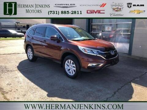 2015 Honda CR-V for sale at Herman Jenkins Used Cars in Union City TN