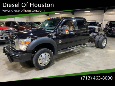 2013 Ford F-550 Super Duty for sale at Diesel Of Houston in Houston TX