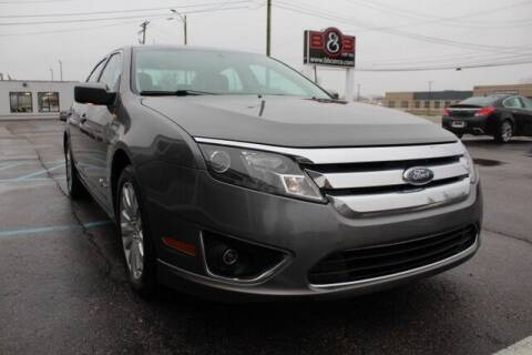 2010 Ford Fusion Hybrid for sale at B & B Car Co Inc. in Clinton Twp MI