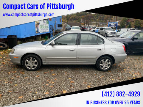 2004 Hyundai Elantra for sale at Compact Cars of Pittsburgh in Pittsburgh PA