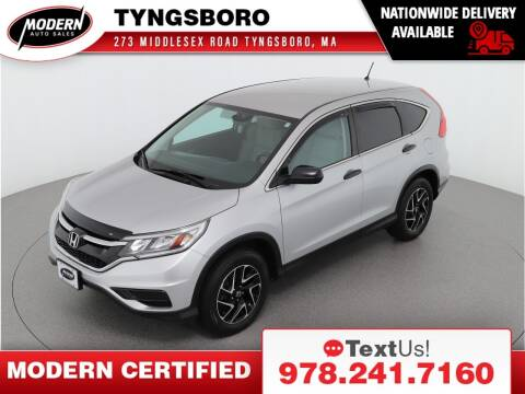 2016 Honda CR-V for sale at Modern Auto Sales in Tyngsboro MA